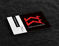 Logo & Business Card design for WoodWay Enterprises