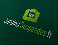 Logo Design - Les Jardins Suspendus / Growshop