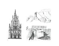 Estructuras - Análisis de 3 Templos