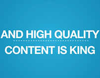 High Quality Content Is King Digital Storytellers Inc