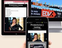 Web Site Promotoras y Tuning