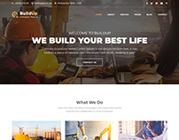 Buildup - Construction Building Company HTML Template