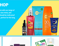 Holiday Shop Landing Page