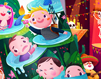 20 illustrations for a cards (2019)