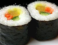 Pensa en Sushi - Triptico