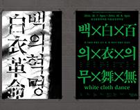 """공연 백의무 Performance """"white cloth dance"""""""