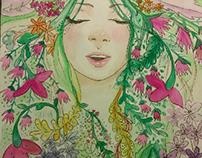 El amor de las flores