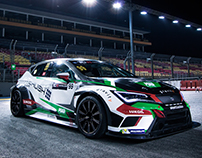 Craft Bamboo Racing - Seat Leon TCR Racer livery