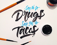 Brushpen Lettering Set 6