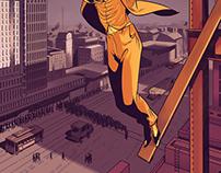 Harold Lloyd Illustrations