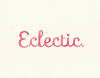 {  ECLECTIC  }