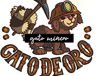 Gato minero - Lettering