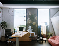 Small Office Interior #4