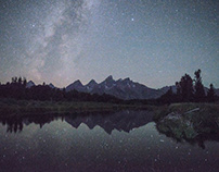An Easy Way to Compose Landscape Photos at Night