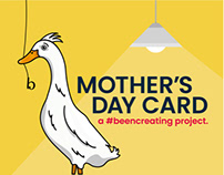 Mother's Day Card - Mother Ducker