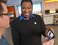 AT&T Retail Sales Rep 'What's My Device' Concept