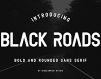 Black Roads Font - Free Demo Version
