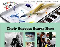 Babbelbekkies Creche Website Mockups