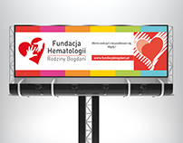 Billboard design for charity of Bogdani Family