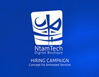 NtamTech - Animated Hiring Campaign