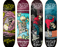 Cruzade Skateboards - Ripper Series