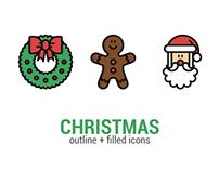 Christmas - Icon Set