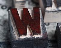Wooden letters – Holzbuchstaben