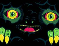 Black Storms Logo + label