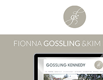 Fionna Gosling and Kim Kennedy: Real Estate Website