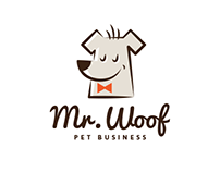 Mr.Woof Logo