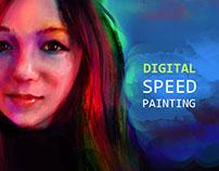 Digital Speed Painting Videos