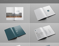 Business Company Profile Template Free Psd File