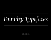 Foundry Typefaces