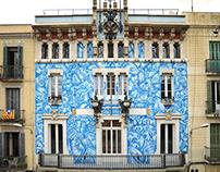 """Guarnit de Lliris"" Wall (Barcelona)"
