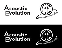 Acoustic Evolution Custom Loudspeakers Logo & Branding