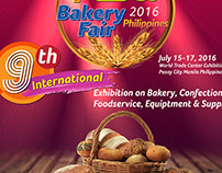 FCBAI Bakery Fair 2016 MOCK UP poster Design