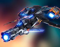 SpaceCraft 3d Oscar Creativo