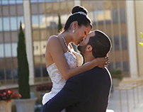Cindy and Jamal by Paintbrush Weddings