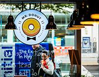 Mr. Donut   Branding, Print, Identity System