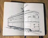 Tram Sketchbook