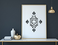 Native Inspired Wall Art