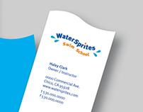 Water Sprites Swim School | Identity Design
