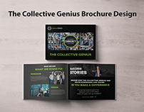 BROCHURE DESIGN FOR THE COLLECTIVE GENIUS