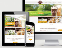 Second Cup Coffee Co. | Web and Print