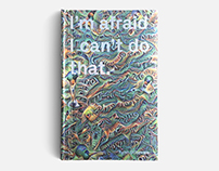 Book: I'm afraid I can't do that.