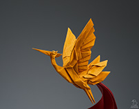 Vietnamese Legendary Heron