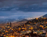 Quito at dawn