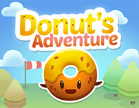 Donut's Adventure Game