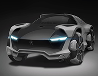 Peugeot SUV Concept (WIP)