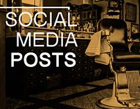 SOCIAL MEDIA POSTS KINGDOM BARBER CLUB